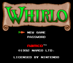 Whirlo title screenshot