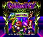Knuckles' Chaotix title screenshot
