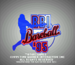 RBI Baseball '95 title screenshot