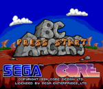 BC Racers title screenshot