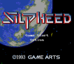 Silpheed title screenshot