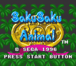 Baku Baku Animal title screenshot