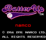 Batter Up title screenshot
