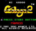 Galaga 2 title screenshot