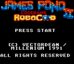 James Pond II - Codename RoboCod title screenshot