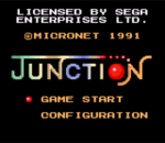 Junction title screenshot