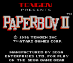 Paperboy II title screenshot