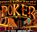 Poker Faced Paul's Poker title screenshot