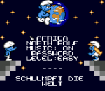 Smurfs Travel the World, The title screenshot