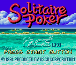 Solitaire Poker title screenshot