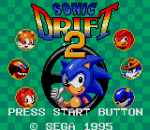 Sonic Drift 2 title screenshot