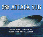 688 Attack Sub title screenshot