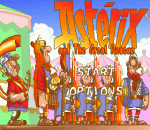 Asterix and the Great Rescue title screenshot