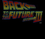 Back to the Future Part III title screenshot