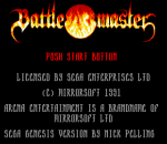 Battlemaster title screenshot