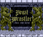 Beast Wrestler title screenshot