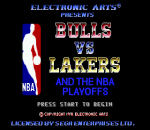 Bulls vs Lakers and the NBA Playoffs title screenshot