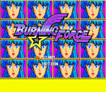 Burning Force title screenshot