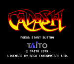 Cadash title screenshot