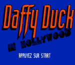 Daffy Duck in Hollywood title screenshot