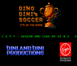 Dino Dini's Soccer title screenshot