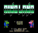Dino Land title screenshot
