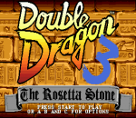 Double Dragon 3 - The Arcade Game title screenshot
