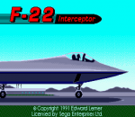 F-22 Interceptor title screenshot