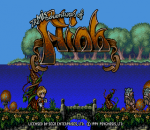 Flink title screenshot