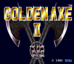Golden Axe II title screenshot