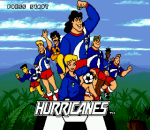 Hurricanes title screenshot