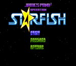 James Pond 3 : Operation Starfish title screenshot