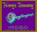 King's Bounty - The Conqueror's Quest title screenshot
