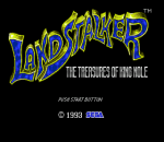 Landstalker title screenshot