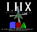 LHX Attack Chopper title screenshot