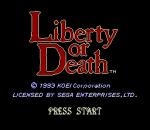 Liberty or Death title screenshot