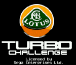 Lotus Turbo Challenge title screenshot