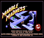Marble Madness title screenshot