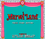 Marvel Land title screenshot