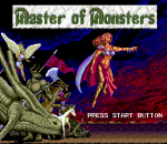Master of Monsters title screenshot