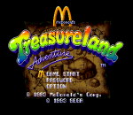 McDonald's Treasure Land Adventure title screenshot