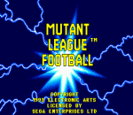 Mutant League Football title screenshot