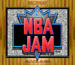 NBA Jam title screenshot