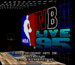 NBA Live 95 title screenshot