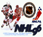 NHL 96 title screenshot