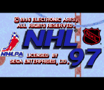 NHL 97 title screenshot