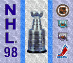 NHL 98 title screenshot