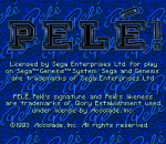 Pele ! title screenshot