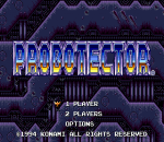 Probotector title screenshot