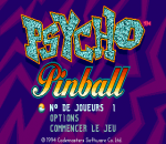 Psycho Pinball title screenshot
